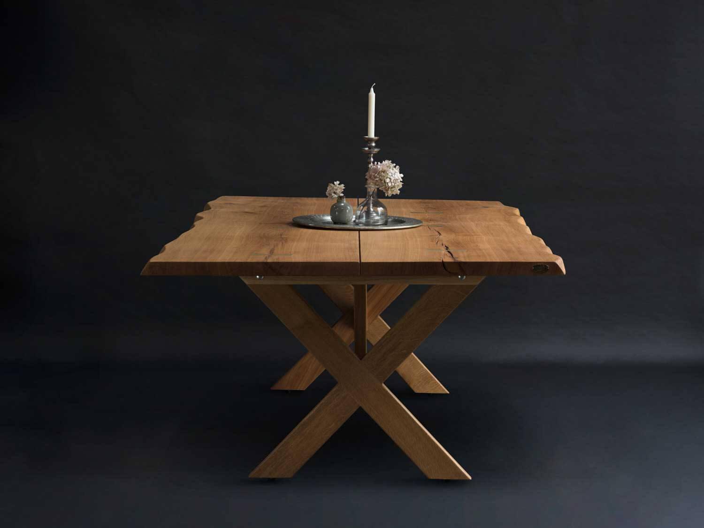 Plankebord med x Ben