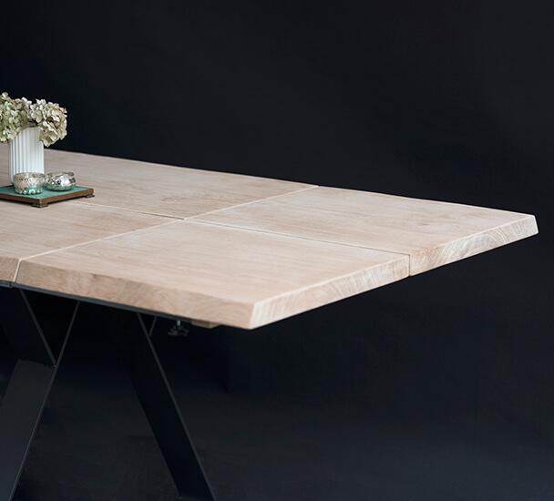 tillægsplade Eg plankebord